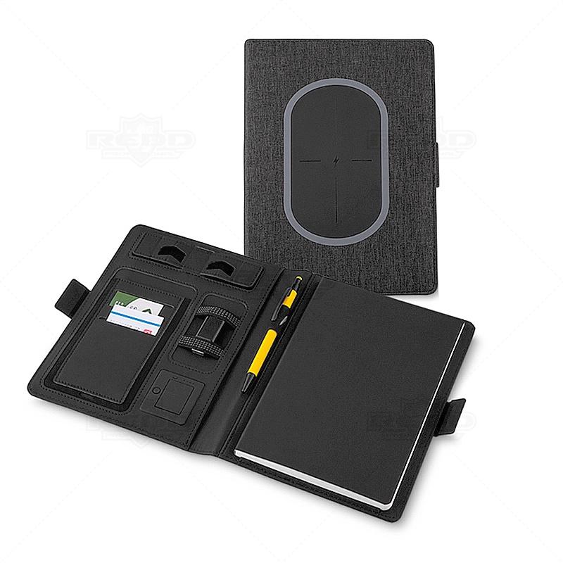 be6742f2c Caderno com Carregador Wireless 4000 Mah Personalizado - CAD29 ...