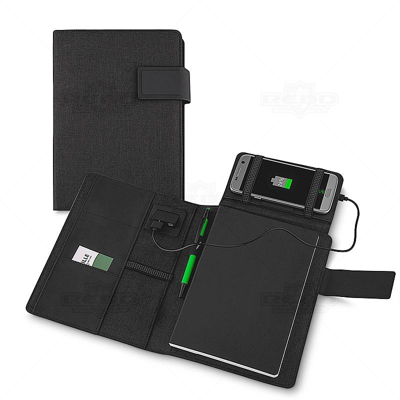 88d6df2d4 Caderno com Carregador Wireless 4000 mAh Personalizado - CAD32 ...