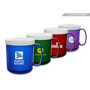 Caneca Térmica Color Green 300ml Personalizada