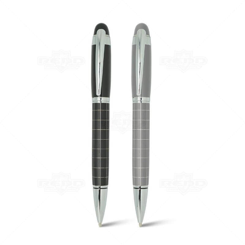 Caneta de metal cromado para grava o cm67 caneta de for Metal cromado