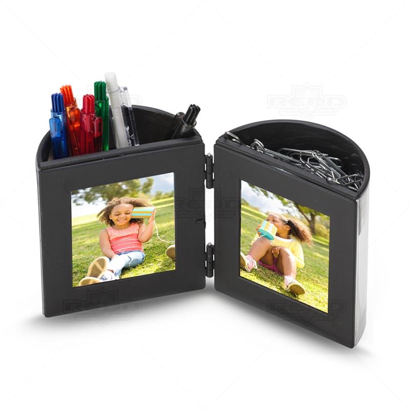 cae4653c829 Porta Caneta com Porta Retrato Personalizado - PC22 - Porta Canetas ...
